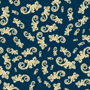 Hawaiian Geckos - Navy Blue Sand