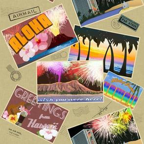 Fireworks: Postcards from Waikiki