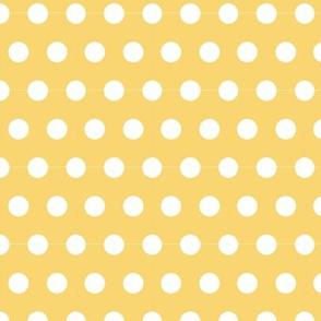 Sunshine Polka Dots