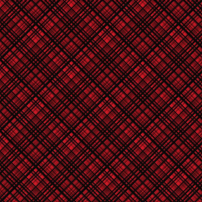 Hawaiian Christmas Red Plaid