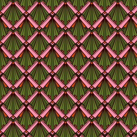 Scale Cherry Blossom Coordinate fabric by jadegordon on Spoonflower - custom fabric