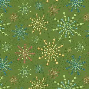 Friday Night Fireworks -Green