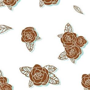 Darling Rose Bud (sienna)