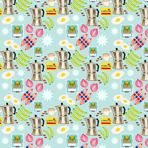 Tres Golpes Breakfast Pattern