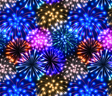 Fireworks fabric by svetlana_prikhnenko on Spoonflower - custom fabric