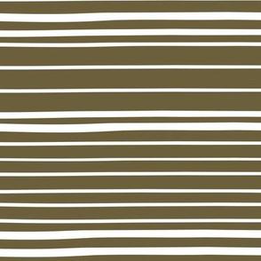 Wonky Stripes (olive)