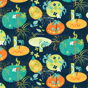 Fireworks_and_Florals_Navy