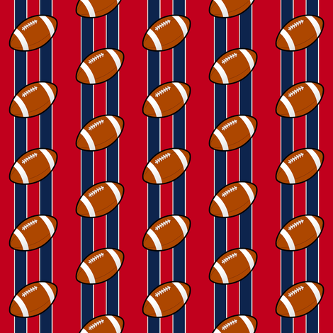 new england patriots  fabric by stofftoy on Spoonflower - custom fabric