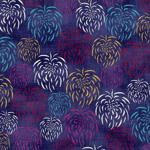 Fireworks Linen
