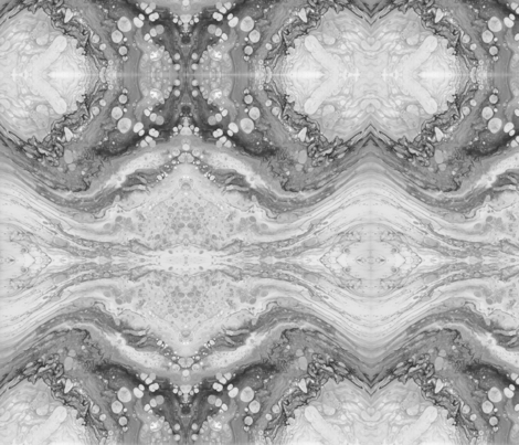 Black and White Abstract Art fabric by lilymorgan on Spoonflower - custom fabric
