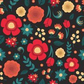 Salmon_teal_florals_swatch_shop_thumb