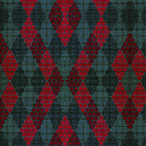 tweed_and_lace_green_and_deeper_red