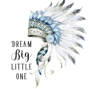 "56""x72"" Dream Big Little One / Chief"