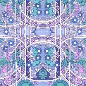 Purple Curly Twister