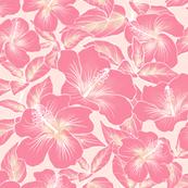 Hibiscus Batik Peach 200