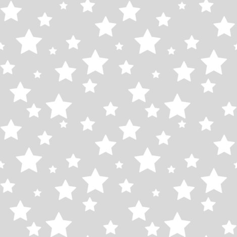 Grey Stars fabric by woodmouse&bobbit on Spoonflower - custom fabric