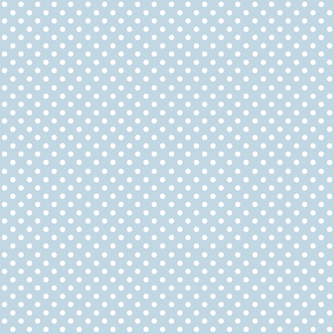 Spots on Blue Small fabric by woodmouse&bobbit on Spoonflower - custom fabric
