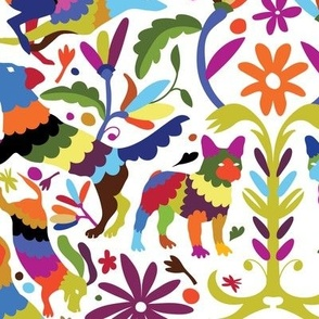 Dog Otomi Multicolor