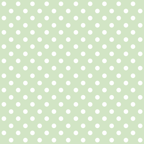 Spots on Green Large fabric by woodmouse&bobbit on Spoonflower - custom fabric