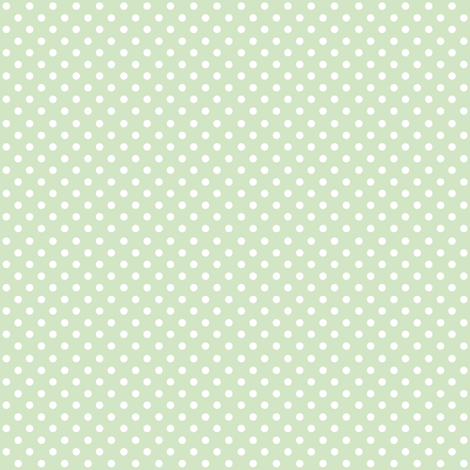 Spots on Green Small fabric by woodmouse&bobbit on Spoonflower - custom fabric
