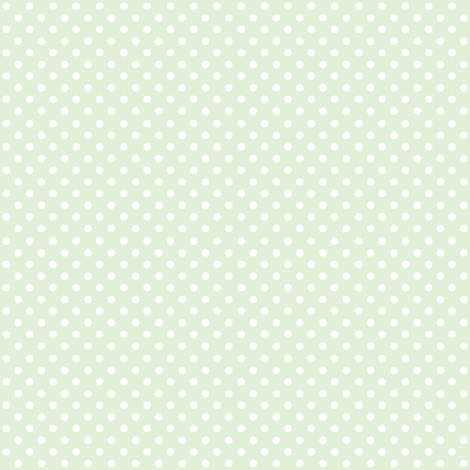 Spots on Mint Small fabric by woodmouse&bobbit on Spoonflower - custom fabric