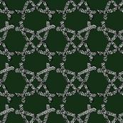 Zebra ribbon green