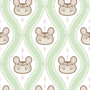 Diamond Mice Green XL