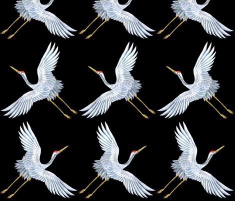 Rrspoonflower_white_flying_crane_black_bg_shop_preview