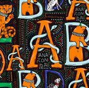 Circus Animal alphabet