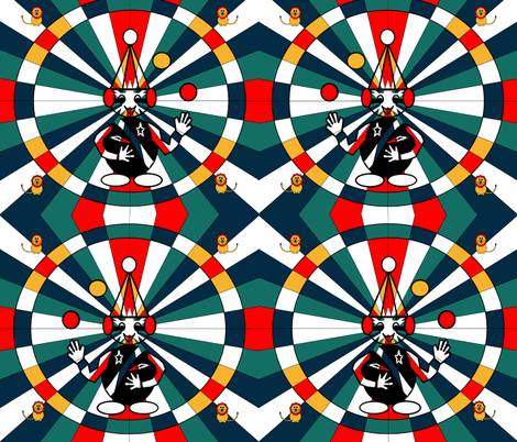 The Circus is coming to Town! fabric by b2b on Spoonflower - custom fabric