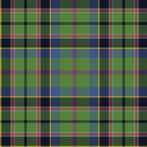 "Stevenson tartan, 12"", ancient colors"
