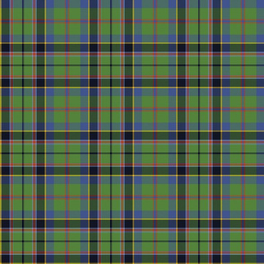 "Stevenson tartan, 6"", ancient colors"