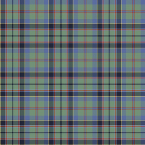 "Stevenson / Stephens tartan, 6"", faded"