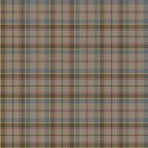 "Stevenson tartan, 6"", reproduction colors"