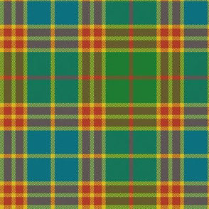 "Stevenson old tartan, 6"" ancient colors"