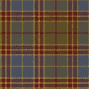 "Stevenson old tartan, 6"" reproduction colors"