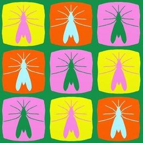 Mosquito Square Pattern