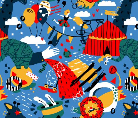 Breathtaking show fabric by boyusya on Spoonflower - custom fabric