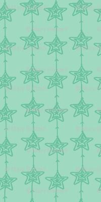 Christmas Stars Mint