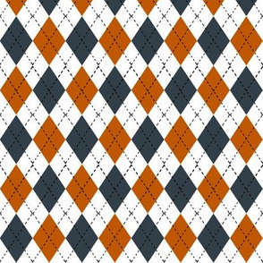 UT longhorns texas argyle pattern print