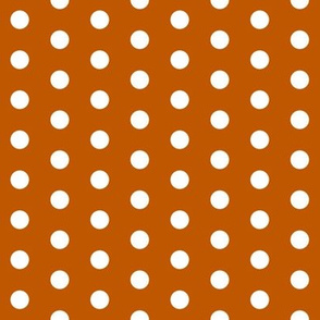 UT longhorns texas dots pattern print