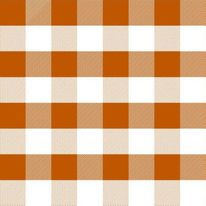UT longhorns texas gingham pattern print