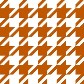 UT longhorns texas houndstooth pattern print