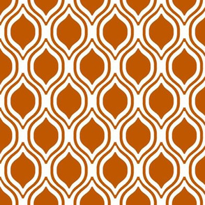 UT longhorns texas ogee pattern print