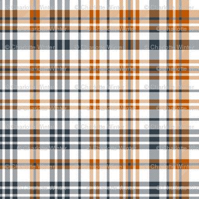 UT longhorns texas plaid pattern print