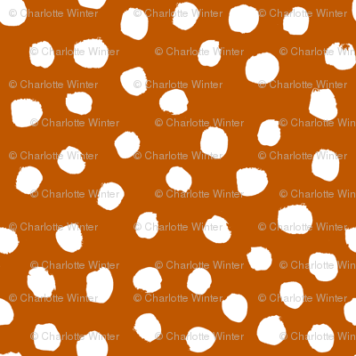 UT longhorns texas dots spots pattern print