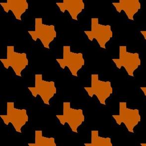 UT longhorns texas state silhouette pattern print