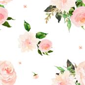 "21"" Floral Swan Mix & Match Print 2"