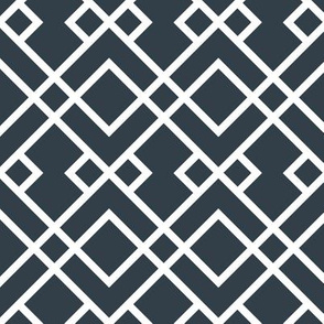 UT longhorns trellis pattern print