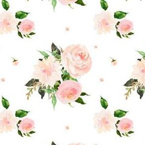 "4"" Floral Swan Mix & Match Print 2"
